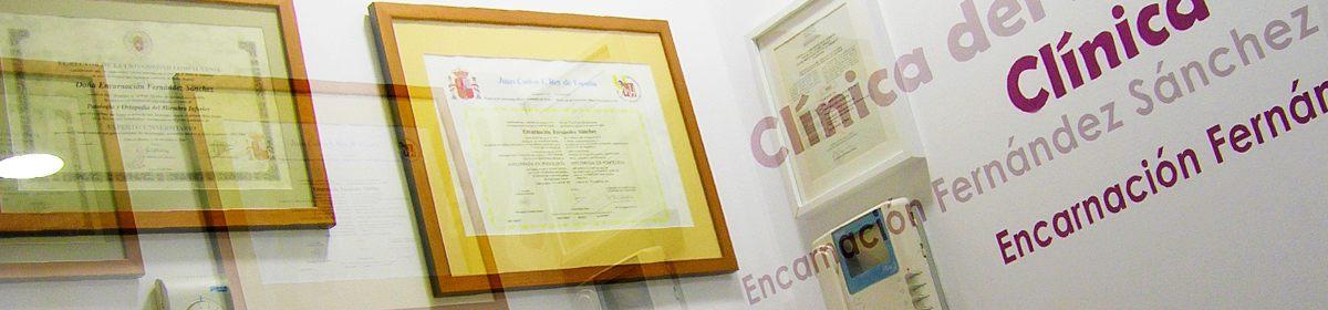 Clínica del Pie Alicante – Encarnación Fernández, Podóloga